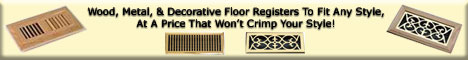 Floor Registers & Floor Vents
