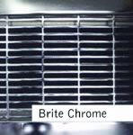 Chrome Finished Custom Metal Grille