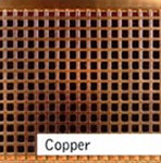 Copper Finished Custom Metal Grille
