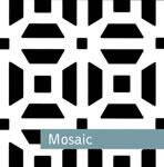 Mosaic Designed Custom Metal Grille