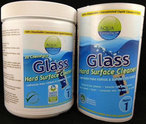 Concentrated Glass Cleaner from Aqua Chempac