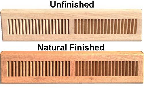 24 Inch Wood Baseboard Diffuser