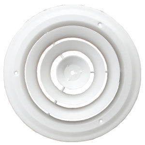 8 Inch Round Sidewall / Ceiling Grille