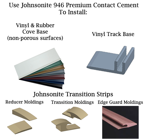 Johnsontie Transition Strip Adhesive