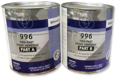 Johnsonite 996 Two Part Epoxy Glue