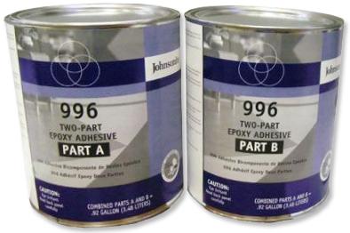Johnsonite 996 Adhesive Two Part Epoxy Glue