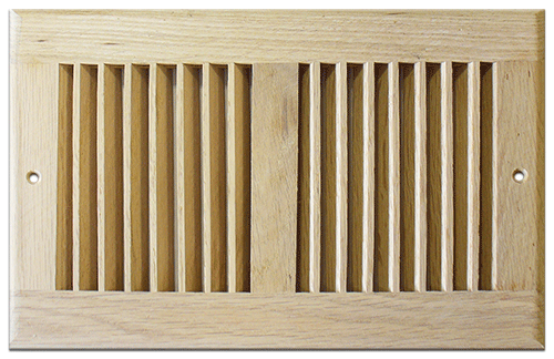 Unfinished Wood Wall Return Air Grille - Wood Ceiling Vent Cover