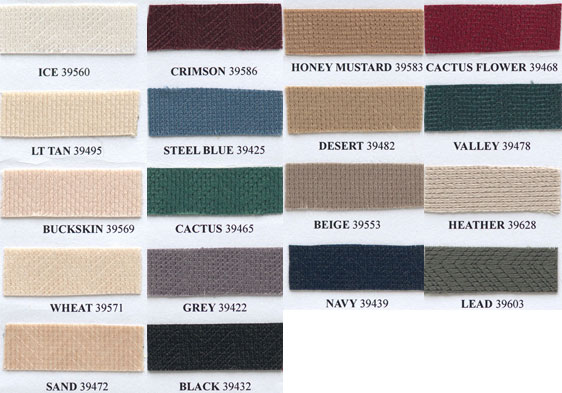 Choose one of these 24 color for your kit