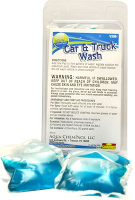 Concentrated Car and Truck Wash by Aqua Chempacs