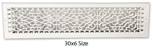 Decorative Baseboard Cover - Plastic Baseboard Return