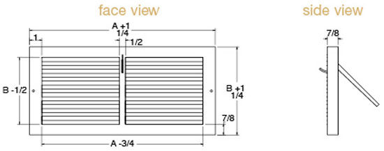 Baseboard Technical Drawing