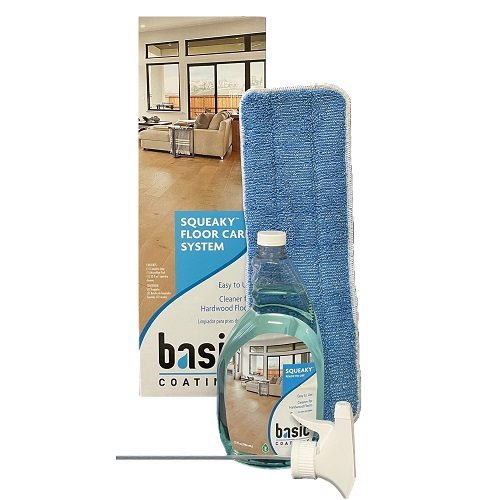 Squeaky Floor Care Kit by Basic