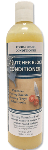 Cal-Flor Butcher Block Conditioner - Bamboo Cutting BOard Care