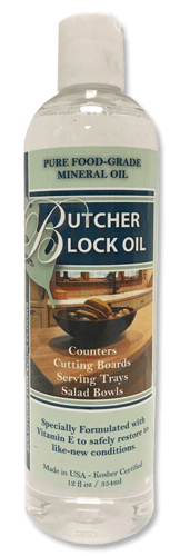 Butcher Block Oil by Cal-Flor - Wood Cutting Board