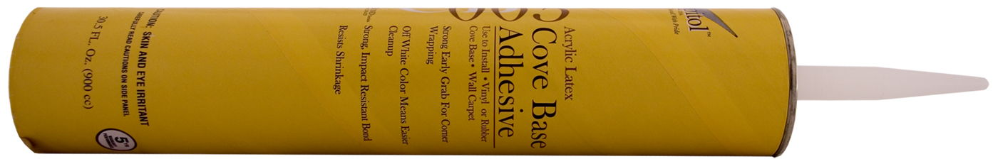 Capitol Arcylic Latex Cove Base Adhesive