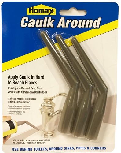 Homax Caulk Around Caulking Tube Tips