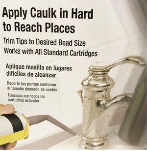 HOmax Caulk Around Caulking Extension Nozzle