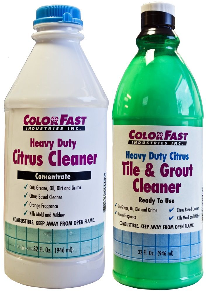 ColorFast Heavy Duty Tile and Grout Cleaner