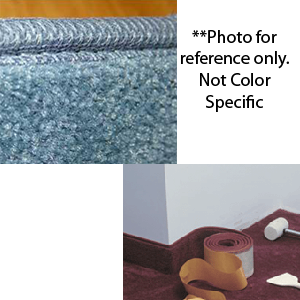Coveworks Self-Adhesive Carpet Wall Base sold by the foot