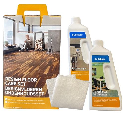 Dr Schutz LVT and Vinyl Floor Maintenance Kit Contents