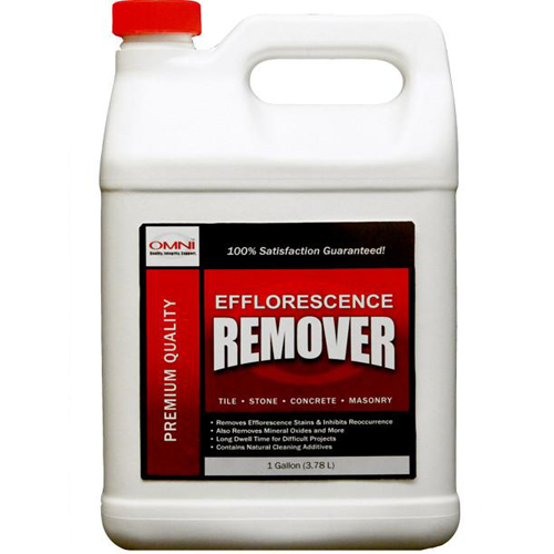 Efflorescence Remover for Cleaning from Brick, Stone, Masonry, Tile and More