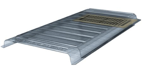 Extend A Vent Floor Register Deflector