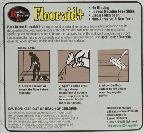 How to use Flooraid+