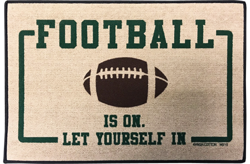 Funny Football Gifts - Outside Doormat