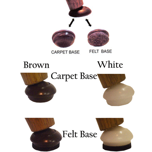 Felt and Carpet Base Gliders for Floor Protection