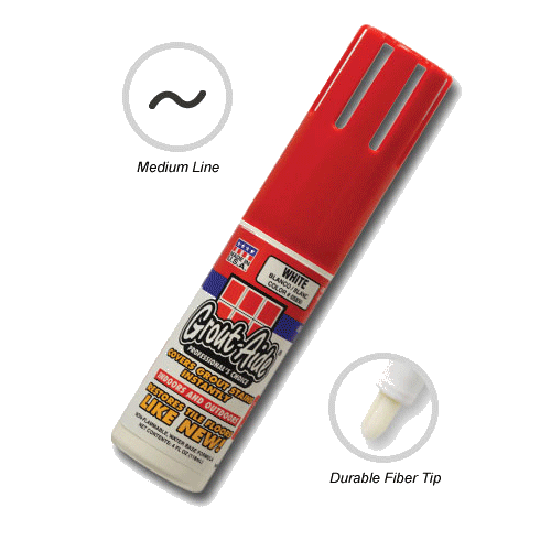 SKM Grout Aide Grout Marker - Cover Up Grout Stains