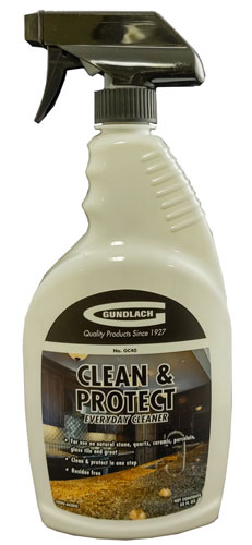 Clean & Protect everyday cleaner for stone by Gundlach