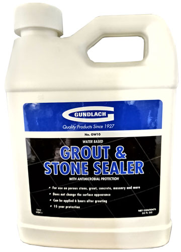 Gundlach Water Based Grout Sealer - Stone Floor Sealer