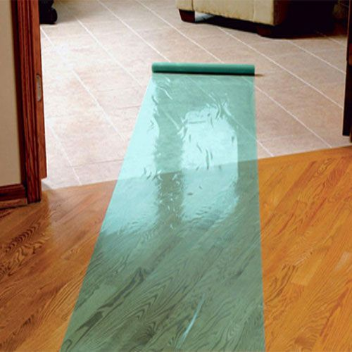 Hard Floor Covering Protection Film 24 inch x 50 foot