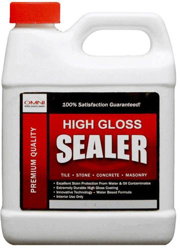 Omni Sealer Wet Look Stone & Tile Sealer