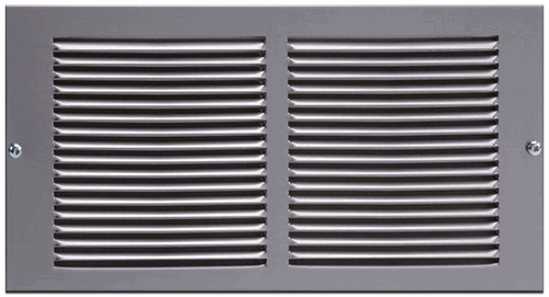 Pewter Return Air Grill by Imperial