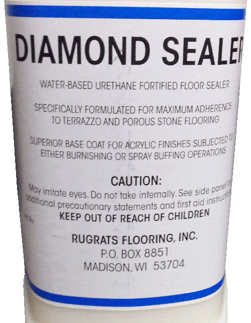 Diamond Sealer for terrazzo and porous stone
