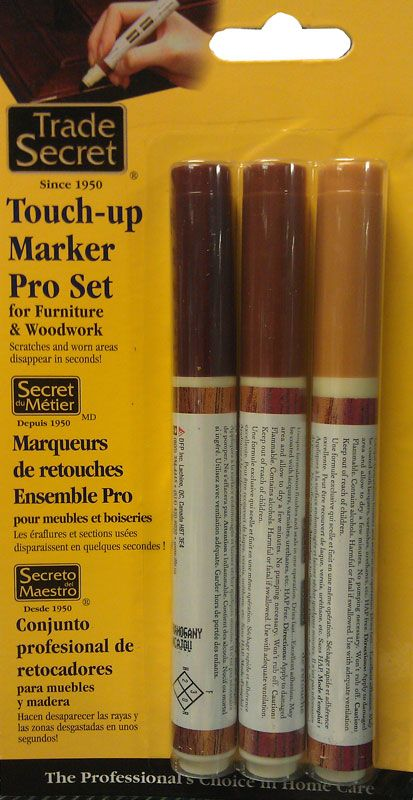 Trade Secret Touch-up Markers