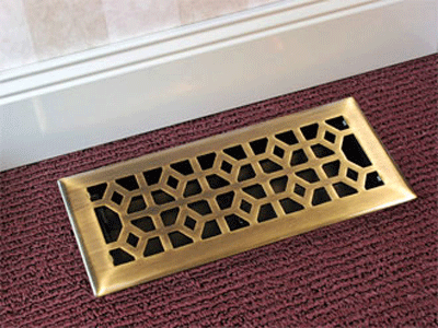 decorative floor vent deflector | carpet awsa