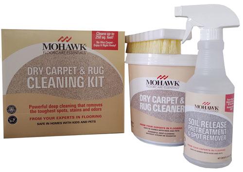 Mohawk Dry Carpet Cleaning Kit
