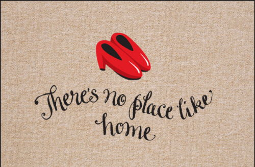 There's No Place LIke Home - Wizard of Oz Themed Mat