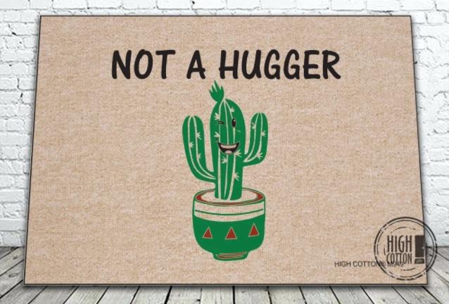 Not a hugger mat