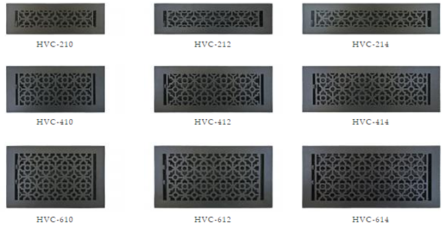 Decorative Vent Covers Aluminum Floor Register