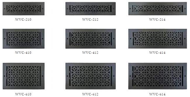 Cast Aluminum Wall Vent