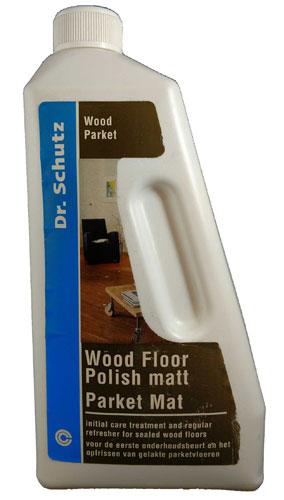 Dr. Schutz Wood Floor Polish Matt