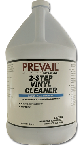 Prevail 2 Step Vinyl Cleaner Metroflor