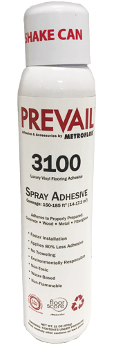 Prevail 3100 Spray Adhesive - Metroflor Adhesive