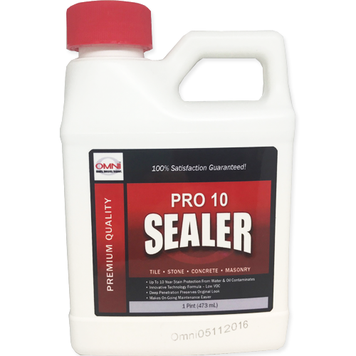 Omni Pro10 Sealer for Tile, Stone, Concrete and Masonry
