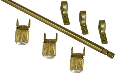 Regency Add On Sets Brushed Brass