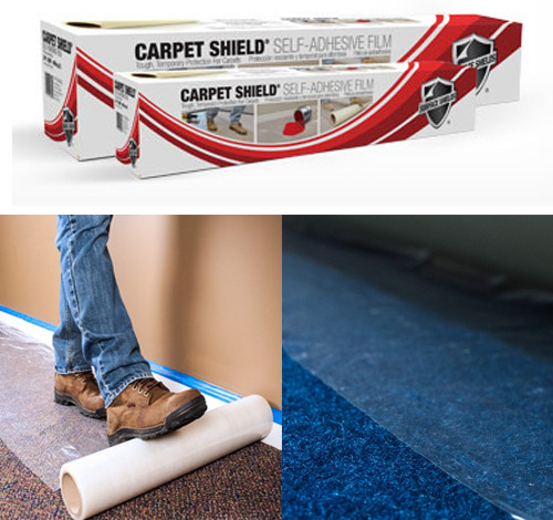 Regular Wound Stairway Carpet Protection - Carpet Shield