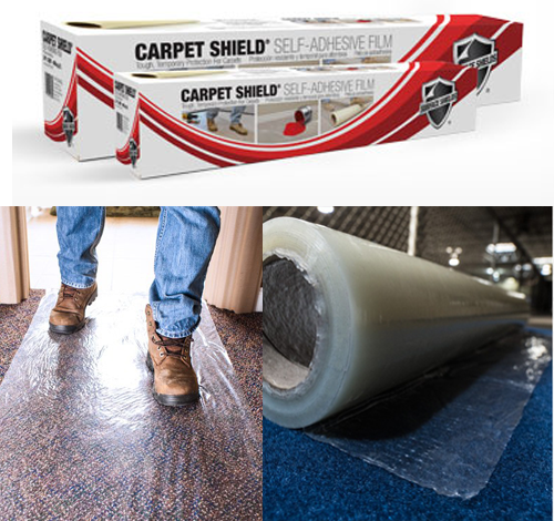 Sticky Carpet Film - Carpet Shield